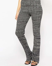 2015 NEW Ladies Knitted grey color slim fit Pants for OME service