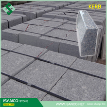 Zhaoyuan G383 granite curbstone kerb stone sizes kerbstone prices