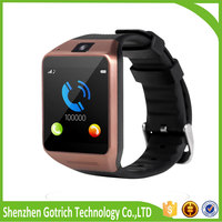 New china touch screen smartwatch cheap gv08 wrist watch mobile phone made in China