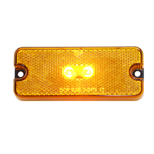 Hot Sale Clearance Light/Marker for Truck And Bus With Reflex Reflectors