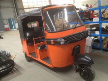 5 seats Oil Cooled Indian Original Bajaj Cheap 200cc Tuk Tuk Tricycle