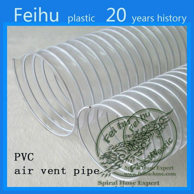 China high quality PVC Flexible ventilation hose pipe Clothes Dryer Parts car vent pipe