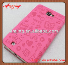 High quality leather case for samsung galaxy s3 i3900
