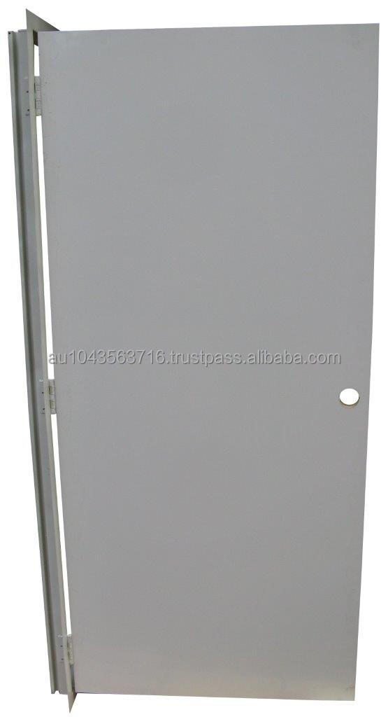 Industrial Wide Steel Access Door Pre-Hung