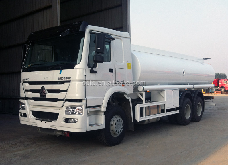 china sino truck 20000 liters howo fuel tank truck for sale