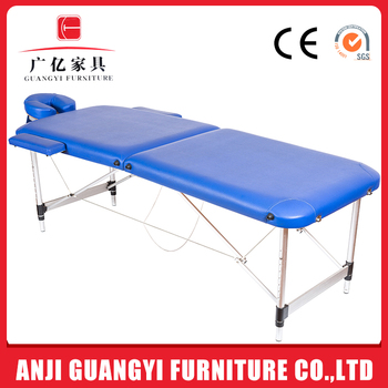 Beauty SPA Portable Folding Thai Aluminum Physical Therapy Massage Table Bed