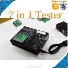 For apple iphone 4/4S/5/5C/5S/6/6 plus lcd touch screen assembly 7 in 1 lcd touch screen testing tester