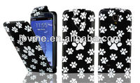 For SAMSUNG Galaxy S4 i9500 Multi Dog Cat Foot Paw Flip Leather Case