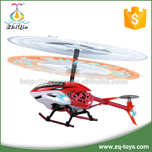 3.5ch children rc helicopter toy with LED light display