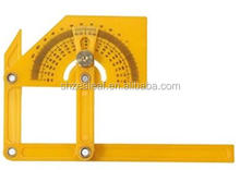Adjustable Protractor 180 Angle Finder w/Articulating Arms Ruler Measuring Tool