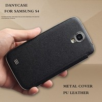 newest arrival aluminum cases for samsung s4, factory price leather flip case for samsung galaxy s4 mini