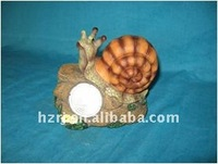 Garden deoration Solar Snail light