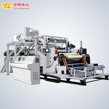 pe pvc cling film extruder screw barrel extrusion line for vegetable and fruits