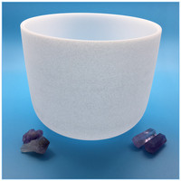 Top Quality chakra hand-held crystal singing bowl with low price