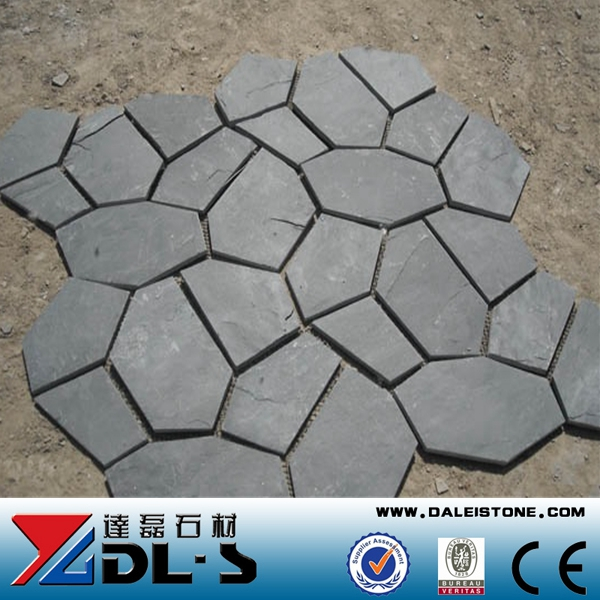 Irregular Shaped Slate Tile For Pavers