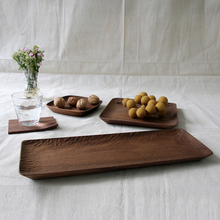 Walnut Lumber Japanese Restaurant Dinnerware Fancy Serving Trays,Dubai Serving Trays/Plate