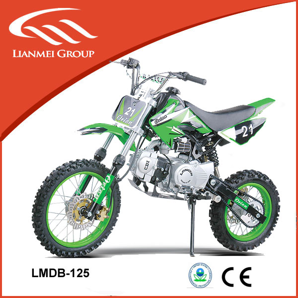 125cc dirt bike / kick start motorbike / cross-country tyre pit bike with CE and EPA