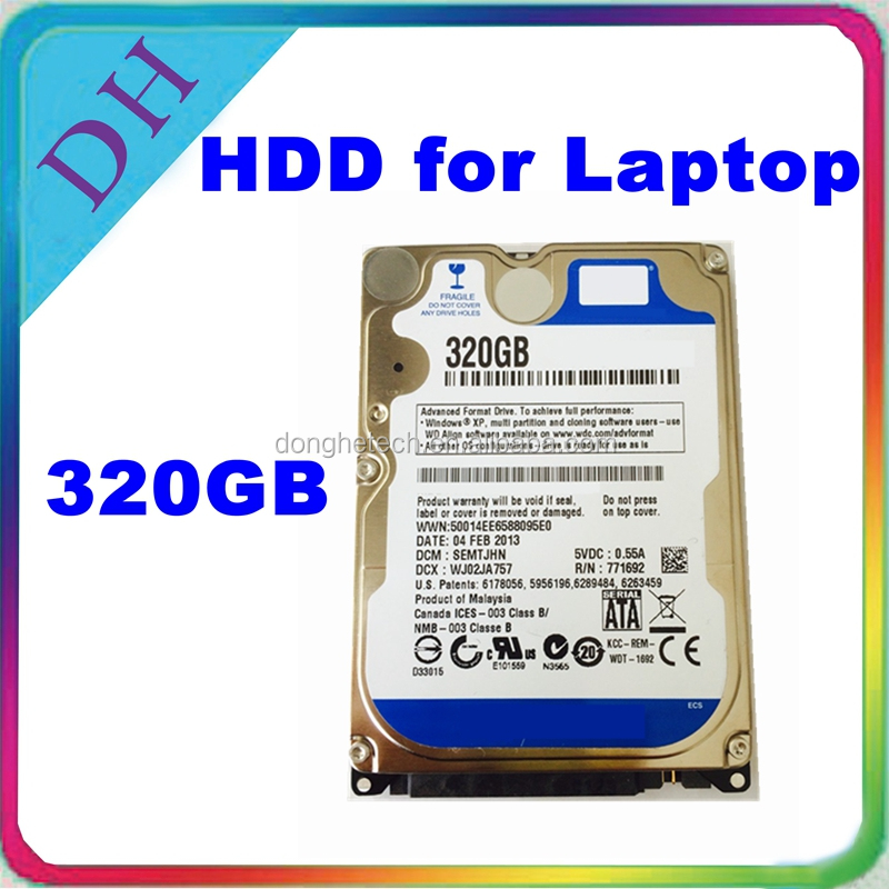 Computer parts 2.5inch 320GB hard disk wholesale