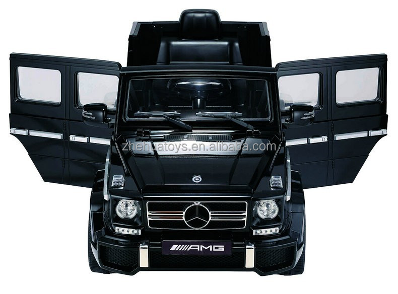 Newest Big Ride on Car 12V Mercedes Benz G63 Licensed Double Door Open Battery Operated Baby Electric Toy Car Vehicle