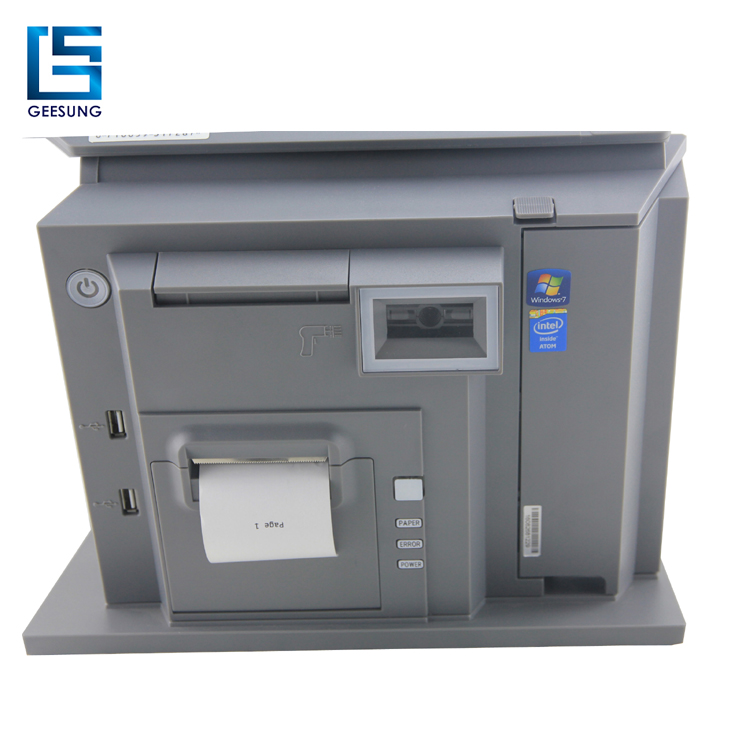 Dual screen 15''+12'' newest design all in one pos system/pos machine for supermarket