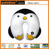 penguin shape vibrating massage animal neck pillow