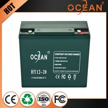 Fashionable cheap attractive design 12V 20ah recyclability battery rechargeable