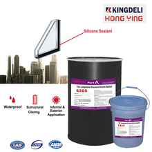 two component structural silicone sealant for insulating glass sealing