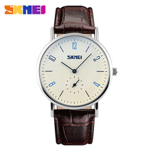 Factory wholesales genuine leather quartz watches ,couple watches on sale