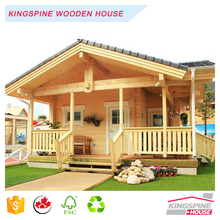 China Manufacturer Low Price Wooden Prefabricated Home Log Cabin House KPL-046