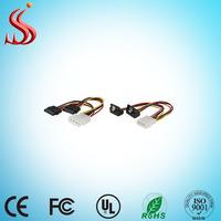 4 pin 2 IDE to Sata Splitter Cable