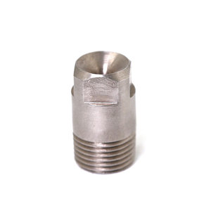 Industrial high velocity water jet spray square solid full conical nozzle