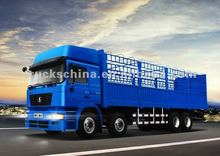 260HP/336HP Shacman 12 wheels 8X4 Fence Cargo Truck For Sale