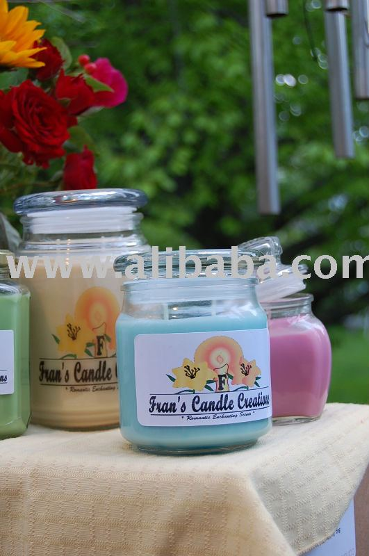 100 % Scented or Unscented Soy Candle