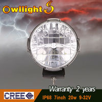 HOT 7'' 20w round cree led driving light ,led off road light for ATV,UTV,TRUCK ,4x4 off road use