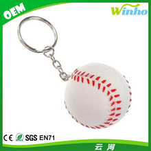 Winho Personalized Stress Reliver Baseball Keychain