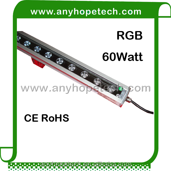 Ra 80 warm white CE RoHS UL 24V waterproof IP65 outdoor 36W led wall washer