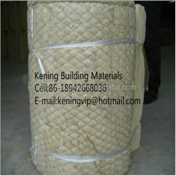 Rock wool blanket mineral wool roll insulation rock wool for Mineral wool blanket