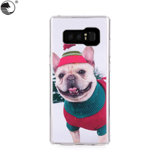 clear tpu animal phone case For Samsung Galaxy Note 8