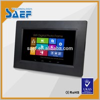 7 inch Advertising display android tablet 1024*600 high brightness support SD ,wifi Multi function