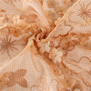 Latest Designs African nylon Embroidery Guipure 3d flower lace embroidered fabric