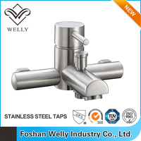 Wall Mounted Stainless Steel Bath Shower Mixer