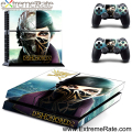 Promotion Product Dishonored 2 Self-adhesive PVC Decal Vinyl for Sony Playstation 4 Dust Cover