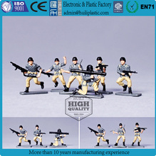 mini soldier 3d pvc plastic figures, American solider custom plastic figure,collection making pvc figure for promotion