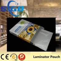 Office Laminator Pouch Film Waterproof Clear Plastic Pouch