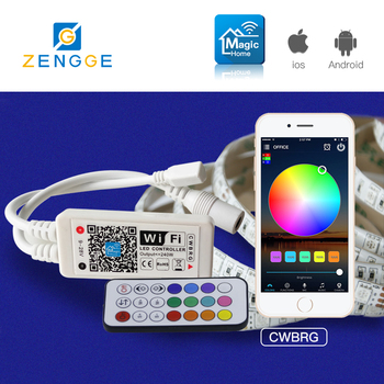 cool new products,Free APP WiFi rf rgb remote touch led light controller for 12v car led strip