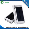 factory price 10000mah waterproof solar power bank for smartphone