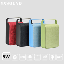 High quality Square shaped music mini portable wireless hifi stereo Bluetooth Speaker