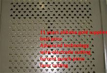 free samples offer metal perforated sheet for building material