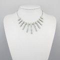 New Product Bib Crystal Choker Necklace