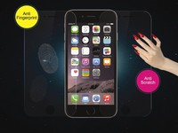 100% 0.3mm 9H hot sales high quality tempered glass screen protector for iPhone 6